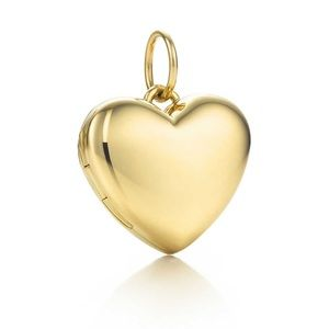 Tiffany and Co gold heart locket